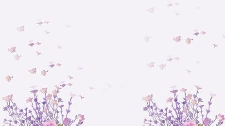 美しい花びらバナー背景素材 美しい 花びら ブーケ 背景画像