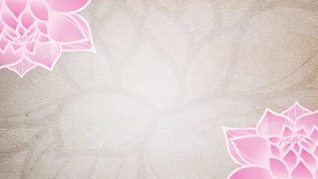 Đẹp sen hồng retro phong cách trung quốc ppt nền, Retro, Hoa Sen, Màu Hồng Ảnh nền