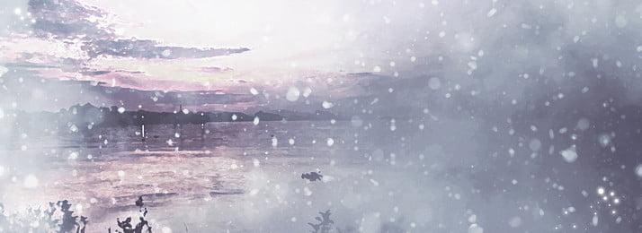 bầu trời đẹp tuyết giấc mơ nền tối giản, Đẹp, Bầu Trời, Tuyết Rơi Ảnh nền