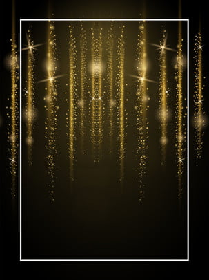black gold christmas light effect background , Hitam, Emas, Kesan Cahaya imej latar belakang