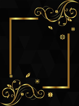 Black Gold Style Minimalist Creative Background Design, Creative Background, Gradient Background, Black Gold, Background image