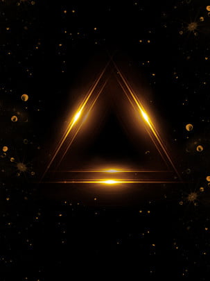 Black Gold Wind Creative Background Design, Black Gold Wind, Golden Background, Black Background, Background image