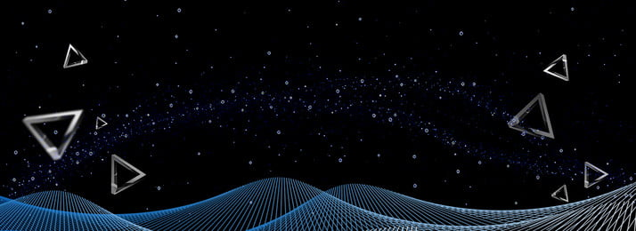 黑色光點線性科技背景, 黑色, 光點, 線性 背景圖片
