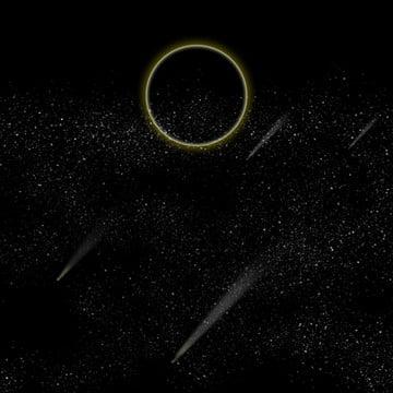 黒い星空点線の背景 , 星空, 黒, 暗い夜 背景画像