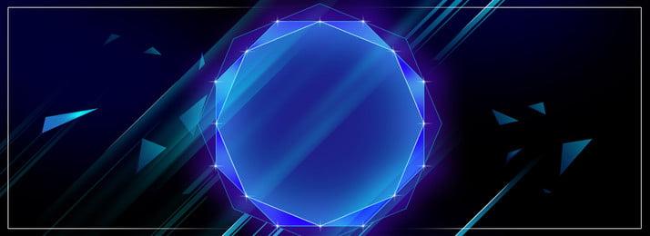Blue Black Atmosphere Technology Sense Line Background Sense,creative,wireframe,geometric,blue, Blue Black Atmosphere Technology Sense Line Background, Sense, Creative, Background image