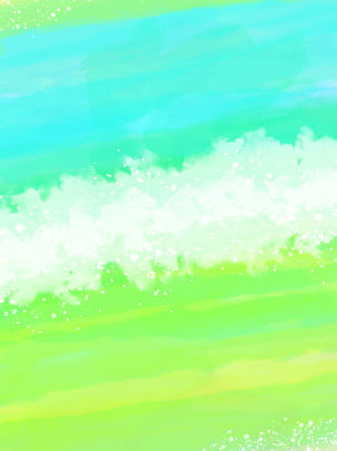 blue green water bright transparent dreamy background , Blue, Green, White Background image
