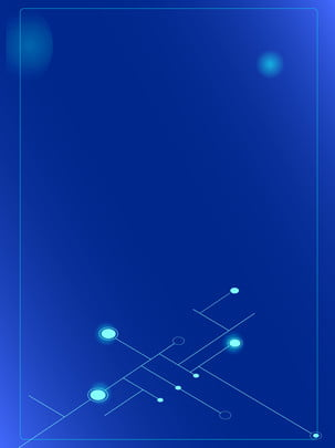 blue minimalist lines gradient technology use advertising background , Qiantu Net, Technology, Blue Background image
