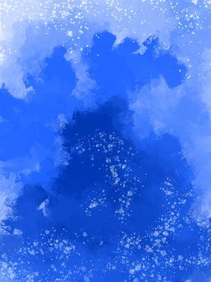 藍色黑夜氣泡夢幻百搭背景 , 藍色, 黑夜, 氣泡 背景圖片