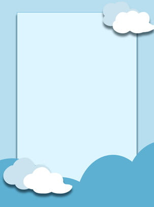 Blue Sky White Clouds Cartoon Background Sky,white Clouds,blue,cartoon,simple, Blue Sky White Clouds Cartoon Background, Sky, White, Background image