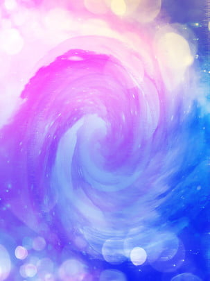 Đổ dốc màu tím xanh bí ẩn mơ ước nền vũ trụ bầu khí quyển H5 Vầng Sáng Hình Nền