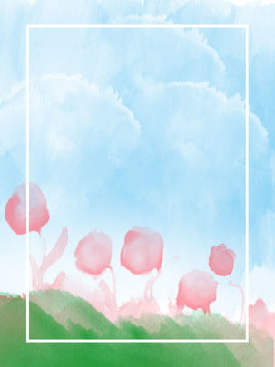 नीला जल रंग अमूर्त फूल आकाश पृष्ठभूमि , नीला, अमूर्त, आबरंग पृष्ठभूमि छवि