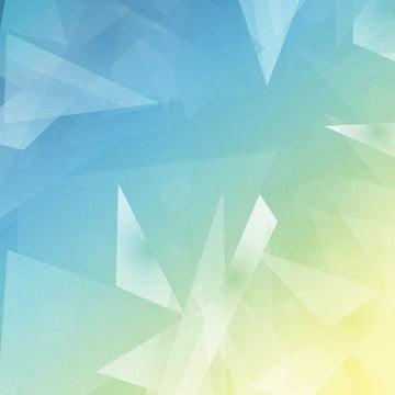 नीले पीले ढाल ज्यामितीय त्रिकोण पृष्ठभूमि , क्रिएटिव, ज्यामिति, तीन आयामी पृष्ठभूमि छवि