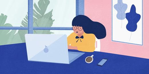 Kinh doanh nữ văn phòng gió Nền tảng kinh Sáng Tảng Nền Hình Nền