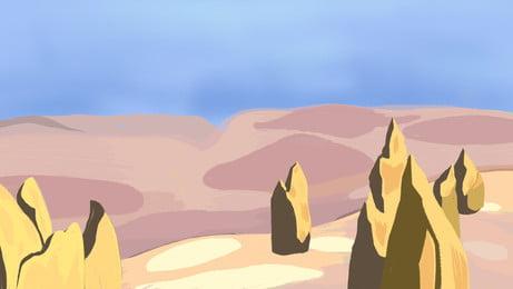 Cartoon Desert Background Photos Cartoon Desert Background Vectors