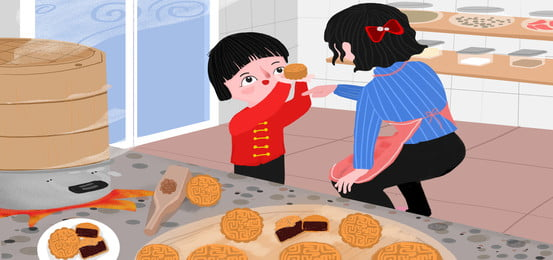Gambar Kartun Ibu Dan Anak Perempuan Latar Belakang Kartun Ibu Dan Anak Perempuan Vektor Latar Belakang Dan Foto Psd Untuk Muat Turun Percuma Pngtree
