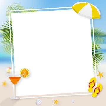 cartoon summer creative master illustration background source file , Creative, Notice, Beautiful Background image