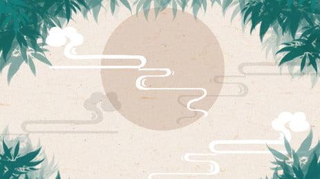 trung quốc phong cách retro thiết kế nền tảng đám mây tốt lành, Phong Cách Trung Quốc, Retro, Phong Cách Cổ Xưa Ảnh nền
