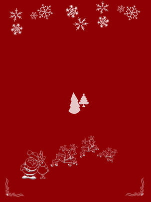 Christmas snowflake elk Árvore de natal papai noel Natal Floco De Imagem Do Plano De Fundo