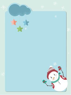 giáng sinh snowman ghi chú đơn giản nền , Giáng Sinh, Mây Trắng, Lưu ý Ảnh nền