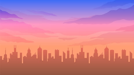 city building houses house, High-rise Building, Silhouette, Landscape Background image