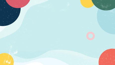 Vật liệu nền vòng tròn đầy màu sắc Nền đầy Màu Hình Nền