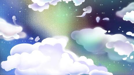 colorful bầu trời  ánh trăng nền hoạt hình, Colorful, Hoạt Hình, Ánh Trăng Ảnh nền