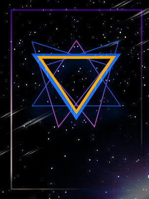 다채로운 기하학적 삼각형 배경 , 색상, 기하학, 삼각형 배경 이미지