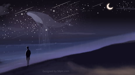 cool dark neon star psd minh họa nền, Tuyệt, Tối, Sáng Ảnh nền