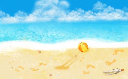 Projeto fresco do fundo da propaganda das férias praia verão Legal Verão Praia Imagem Do Plano De Fundo