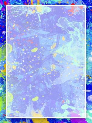 Sáng tạo màu sơn splatter nền Sáng Tạo Sắc Hình Nền