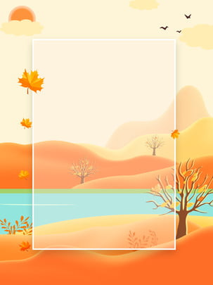 creative golden autumn deciduous background , Creative, Golden, Autumn Background Background image