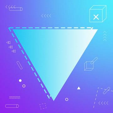 創意紫色藍色漸變三角形幾何線條背景 , 三角形, 漸變, 幾何 背景圖片