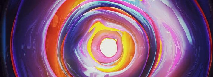Sáng tạo swirl neon màu nền banner Sáng Tạo Xoáy Hình Nền