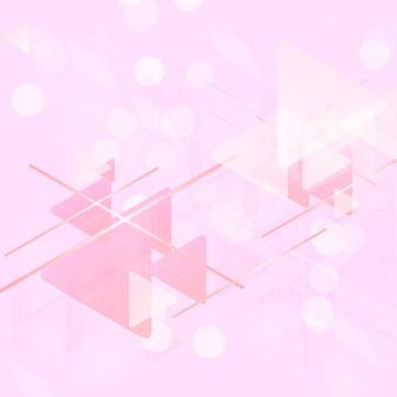 Cute pink geometric creative background , Geometric, Creative, Spot Background image