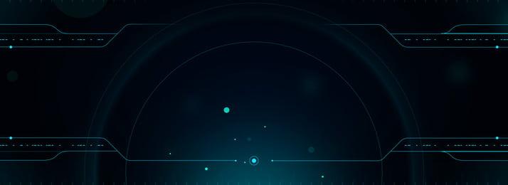 dark green technology photoelectric star background, Technology, Halo, Electro-optic Background image