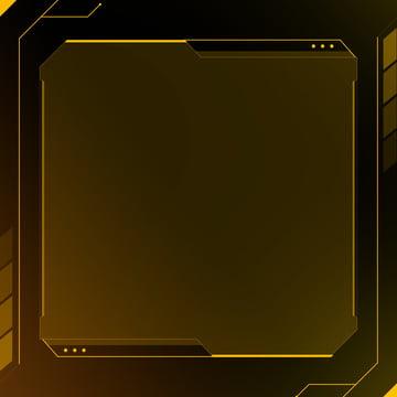 công nghệ màu vàng đậm dây gió khung nền , Nền Vàng, Ý Nghĩa Công Nghệ, Dây Khung Ảnh nền