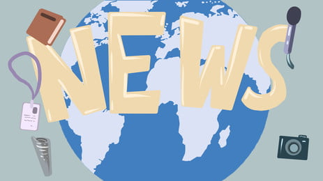 पृथ्वी समाचार माइक्रोफोन रिपोर्टर कार्ड कैमरा कार्टून पृष्ठभूमि, पृथ्वी, समाचार, माइक्रोफ़ोन पृष्ठभूमि छवि