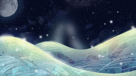 Beautiful Love Background Image Snow Snowflake Lovers Background