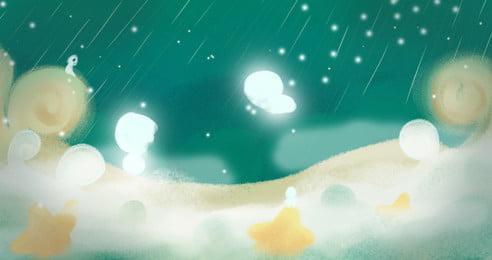夢幻雲霧天空廣告背景, 廣告背景, 夢幻, 雲朵 背景圖片