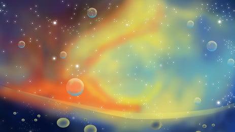काल्पनिक रंगीन बुलबुला पृष्ठभूमि सामग्री, रंगीन बुलबुले, बुलबुला पृष्ठभूमि, कलंक पृष्ठभूमि छवि