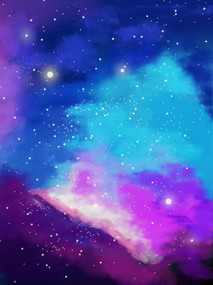 fantasy colorful starry background , Dream, Colorful, Starry Sky Background image