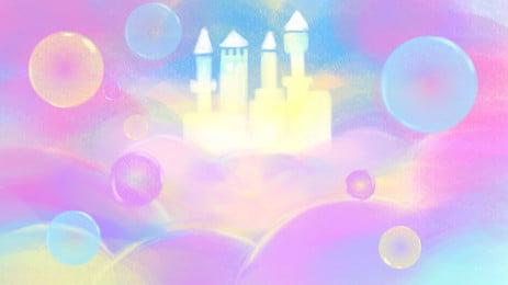 Giấc mơ của Banner bài hát nền trời thành Wonderland Wonderland Lâu đài Hình Nền