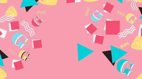 ファッション幾何学的メンフィスバナーの背景 直方体 ドット 波動点 ジオメトリ 行 メンフィス グラフィックス パターン クリエイティブ ファッション バナーの背景 直方体 ドット 波動点 背景画像