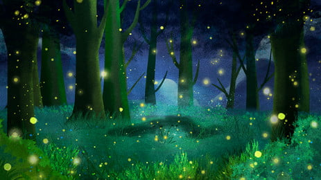 Download Free Firefly Spark Little Background Images Night