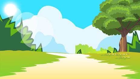 Vật liệu nền cỏ rừng Rừng Đồng Cỏ Hình Nền