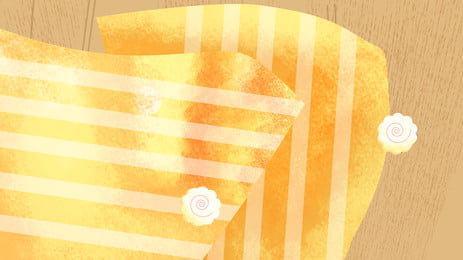 ताजा नीली धारीदार मेज़पोश विज्ञापन पृष्ठभूमि, लकड़ी का बोर्ड, विज्ञापन की पृष्ठभूमि, सर्पिल फूल पृष्ठभूमि छवि