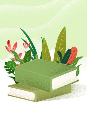 Livro fresco flores material de fundo Flor Folhas Flores Livro Livro e flores Leitura Fundo Fundo Fundo Material Imagem Do Plano De Fundo