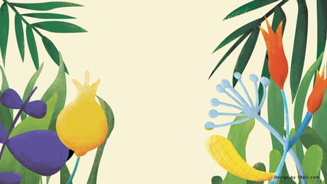 清新な草花と植物の背景 Pspd背景 アイデアの背景 キャラクター素材 背景画像