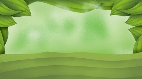 新緑の葉ドラゴンボートフェスティバルの背景素材 グリーン ドラゴンボートフェスティバル 葉っぱ 背景画像