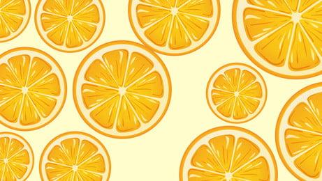 màu cam tươi phim hoạt hình thiết kế nền liền mạch, Tươi, Phim Hoạt Hình, Nền Trái Cây Ảnh nền